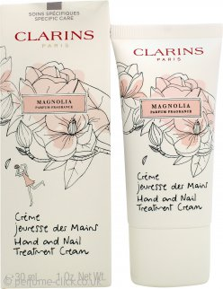 Clarins Limited Edition Magnolia Hand & Nail Treatment Cream 30ml