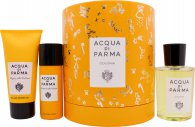 Acqua di Parma Colonia Geschenkset 100ml EDC + 75ml Douchegel + 50ml Deodorant Spray