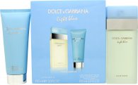 Dolce & Gabbana Light Blue Gift Set 100ml EDT + 100ml Body Cream