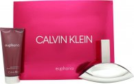 Calvin Klein Euphoria Giftset 100ml EDP + 100ml Body Lotion
