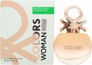 Benetton Colors Woman Rose Eau de Toilette 50ml Spray