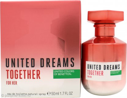 United Dream Together For Her Eau de Toilette 50ml Spray