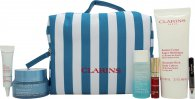 Clarins Beauty in Blue Hydra-Essentiel Holiday Edition Gift Set - 7 Pieces