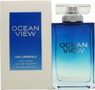 Karl Lagerfeld Ocean View For Men Eau de Toilette 100ml Spray