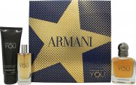 Giorgio Armani Emporio Armani Stronger With You Gift Set  50ml EDT + 75ml Shower Gel + 15ml EDT