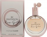 Michael Buble By Invitation Rose Gold Eau de Parfum 30ml Spray