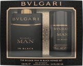 Bvlgari Man In Black Set Regalo 100ml EDP + 75ml Deodorante Stick