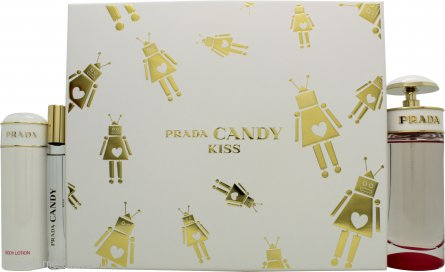 Prada Candy Kiss Gift Set 80ml EDP + 75ml Body Lotion + 10ml EDP