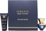 Versace Pour Femme Dylan Blue Gift Set 30ml EDP + 50ml Body Lotion