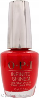 OPI Infinite Shine Nail Polish 15ml - Unrepentantly Red