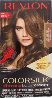 Revlon Luxurious Colorsilk Buttercream Hair Color 126.8ml - 63 Light Golden Brown