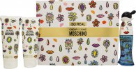 Moschino So Real Cheap & Chic Gift Set 1.7oz (50ml) EDT + 3.4oz (100ml) Shower Gel + 3.4oz (100ml) Body Lotion