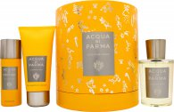 Acqua di Parma Colonia Pura Geschenkset 100ml EDC + 75ml Douchegel + 50ml Deodorant Spray