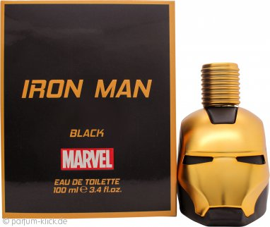 Marvel Iron Man Black Eau de Toilette 100ml Spray