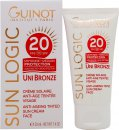 Guinot Sun Logic Uni Bronze Anti-Ageing Tinted Sun Cream Face SPF20 50ml