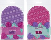 Sunkissed Supersoft Single Sided Tanning Mitt - 1 Piece Purple or Pink (Random Colour)