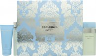 Dolce & Gabbana Light Blue Gift Set 50ml EDT + 50ml Body Cream + 10ml EDT