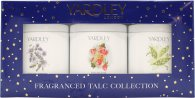 Yardley Fragranced Talc Collection Gift Set - 3 Pieces