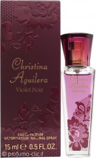 Christina Aguilera Violet Noir Eau de Parfum 15ml Spray