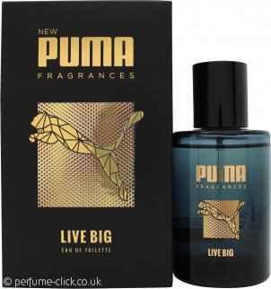 Puma Live Big Eau de Toilette 50ml Spray