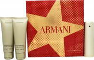 Giorgio Armani Emporio She Gavesett 50ml EDP + 75ml Shower Gel + 75ml Body Lotion