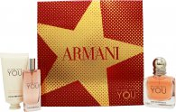 Giorgio Armani Emporio Armani In Love With You for Her Gift Set 50ml EDP + 15ml EDP + 50ml Hand Cream