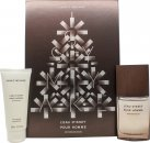 Issey Miyake L'Eau d'Issey Pour Homme Wood & Wood Christmas Gift Set 50ml EDP + 100ml Shower Gel