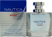Nautica Voyage Sport Eau de Toilette 1.7oz (50ml) Spray