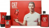 Cristiano Ronaldo CR7 Gift Set 100ml EDT + 75g Deodorant Stick + 100ml Aftershave Balm