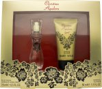 Christina Aguilera Glam X Gift Set 0.5oz (15ml) EDP + 1.7oz (50ml) Shower Gel