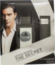 Antonio Banderas The Secret Gift Set 100ml EDT + 75ml Aftershave Balm