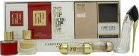 Carolina Herrera Woman Travel Gift Set 5 Pieces