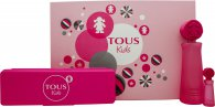 Tous Kids Girl Gift Set 100ml EDT + 4ml EDT + Pencil Case