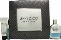 Jimmy Choo Urban Hero Gift Set 100ml EDP + 100ml Aftershave Balm + 7.5ml EDP