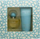 Oscar de la Renta Something Blue Gift Set 100ml EDP + 200ml Body Lotion