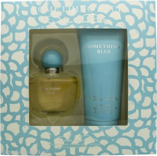 Oscar de la Renta Something Blue Gavesett 100ml EDP + 200ml Body Lotion