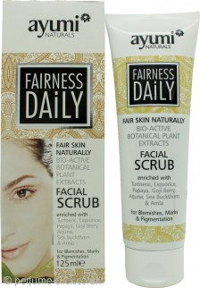 Ayumi Fairness Daily Face Scrub 125ml