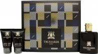 Trussardi Uomo Tweed Weekend Gift Set 50ml EDT + 30ml Aftershave Balm + 30ml Shower Gel