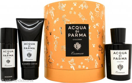 Acqua di Parma Colonia Essenza Eau de Cologne Gift Set 100ml EDC + 75ml Hair & Shower Gel + 50ml Deodorant Spray