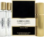 Carolina Herrera Good Girl Gift Set 1 x 20ml EDP Travel Spray + 2 x 20ml EDP Refills