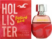 Hollister Festival Vibes For Her Eau de Parfum 50ml Spray