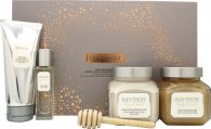 Laura Mercier Ambre Vanille Luxe Body Collection Gift Set 4 Pieces