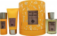 Acqua di Parma Colonia Intensa Gift Set 100ml EDC + 75ml Shower Gel + 50ml Deodorant