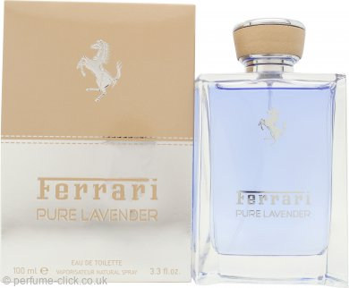 Ferrari Pure Lavender Eau de Toilette 100ml Spray