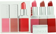 Clinique Pop Lip Colour and Primer Geschenkset 3 x 3.9g