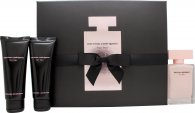 Narciso Rodriguez For Her Gavesett 50ml EDP + 75ml Body Lotion + 75ml Dusjgel