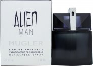 Thierry Mugler Alien Man Refillable Eau de Toilette 50ml Spray