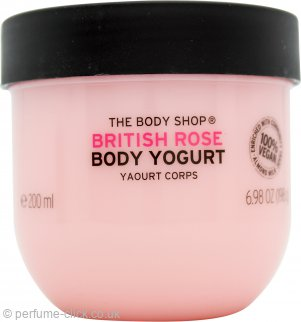 The Body Shop British Rose Body Yogurt 200ml