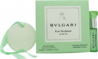 Bvlgari Eau Parfumee au The Vert Gift Set 0.3oz (10ml) EDC + Perfumable Ceramic