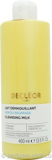 Decleor Aroma Cleanse Cleansing Milk with Essential Oils and Essential Waters (All Skin Types) 13.5oz (400ml)